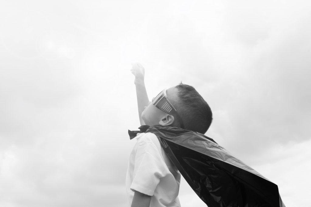 jongen-superheld